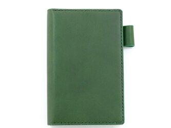 【グリーン】ポケットサイズのシステム手帳の画像