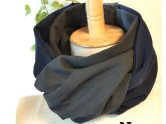 20-11 保冷剤入れ付スカーフ風日除けネックウォーマーの画像