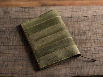 【サイズオーダー】床革のブックカバーの画像