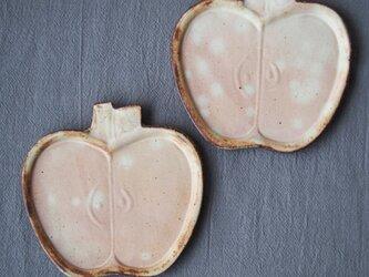 粉福りんご皿(S)の画像