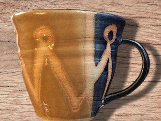 [送料込] ルリと黄色ゆうのマグカップの画像