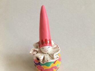 とんがりピエロ・ピンクの画像