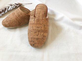 :corkのルームシューズ:の画像