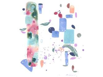 『夏音色』・インテリア アートの画像