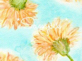 イラストポストカード(フラワー)の画像