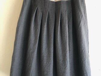 麻の切り替えスカートBの画像