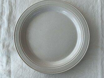 内山太朗・丸大皿(ドーナツ)の画像