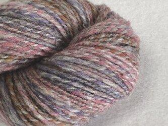 手紡ぎ毛糸:双糸 i-10-001の画像