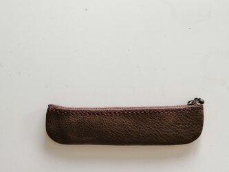 革のペンケース 004-036の画像