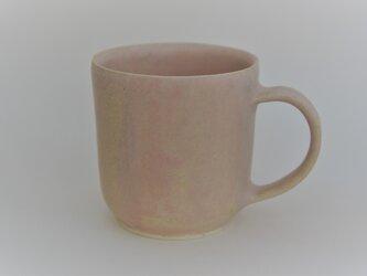 マグカップ ピンクの画像