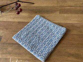 Coaster[リネン手織りコースター] 空色の画像