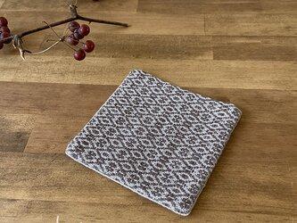 Coaster[リネン手織りコースター] 栗色の画像