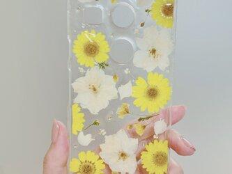 【全機種対応】夏の訪れ。押し花スマホカバー♡全ての機種対応できます。iPhoneらくらくフォンXperiaなど全ての画像