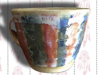 [送料込]デニムの様な マグカップの画像