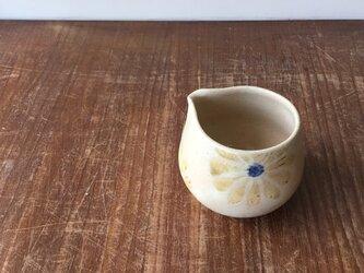 片口 釉彩菊花紋の画像