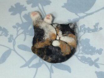 猫の小銭入れの画像
