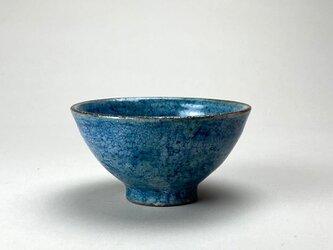 粉引青彩 飯碗 小の画像