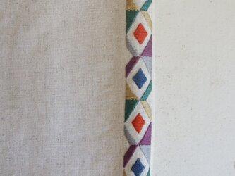 【K様専用】手刺繍ブックカバの画像