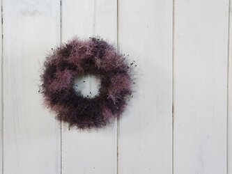 スモークツリーのシンプルミニリース パープルピンクの画像