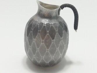 純銀/酒器 徳利 長寿亀甲紋 140mlの画像