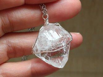 水晶原石*ペンダントの画像