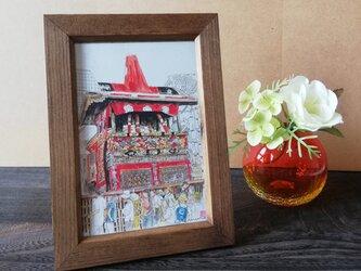 京の水彩画 ポストカード4枚セットの画像