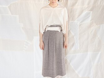 knit waistmark skirtの画像
