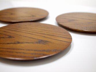 楢の五寸皿の画像
