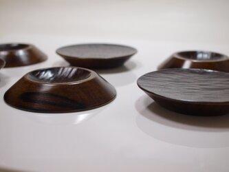 柿四寸平皿の画像