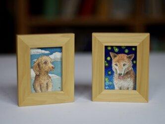 [受注製作] 犬の肖像画の画像