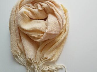 大人の手織り手染め大判コットンガーゼストール 288の画像
