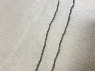 ラブラドライトネックレスの画像