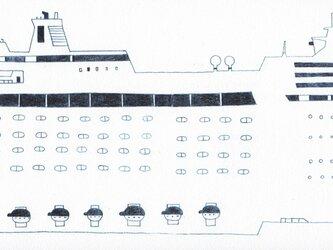 フェリー船の画像