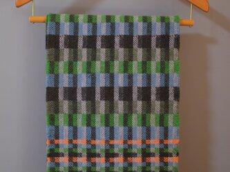 手織りLamb100 - Green-の画像