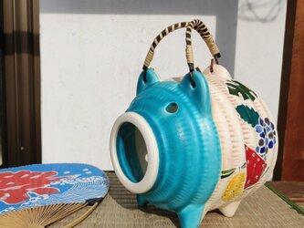 トロピカルフルーツ 蚊取り豚 トルコマットの画像