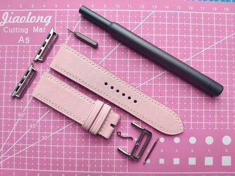 高級革使用 Apple Watchベルト 女子 時計ベルト 可愛い 腕時計 皮の画像
