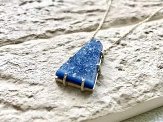 Crystal agate necklaceの画像