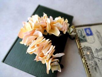 フラワーバナナクリップ ■ 窓辺に吊るされた紫陽花 ■ レモンピーチの画像