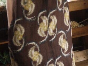 洗い張り着物からスタンドネックワンピースの画像