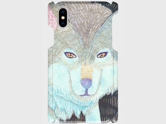 《もふもふした狼》iPhoneケース/スマホケース/タイリクオオカミの画像