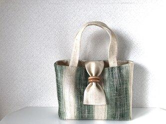 帯バッグ〜初夏〜の画像