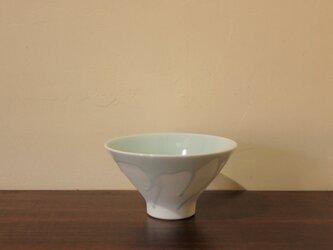 青白磁飯碗 大の画像