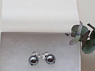 テラヘルツ木の実のピアスチャームの画像