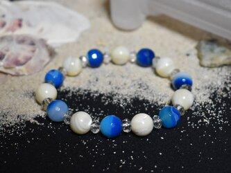 ブレスレット 海に浮かぶ満月の画像