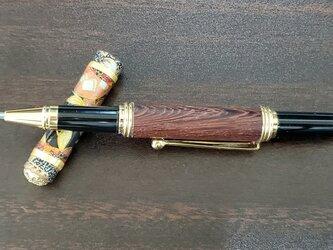 『江戸の粋』キャップ式ボールペンの画像