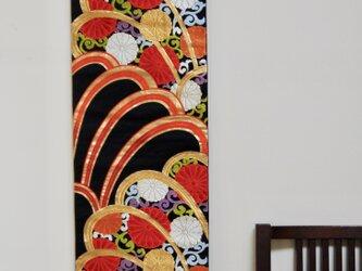 帯タペストリー 菊唐草の画像