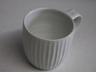 つや消しホワイトのシノギカップの画像
