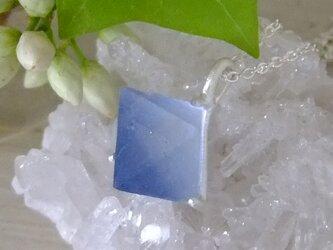 ブルーフローライト*925 pendantの画像