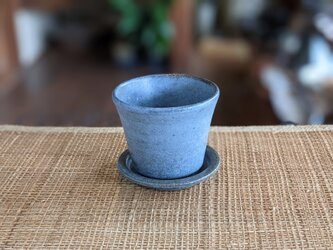「再出品」ちょこカップ&蓋皿㋺の画像