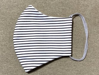 天然素材の涼しい立体布マスク【M】【夏用】の画像